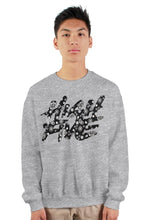 Load image into Gallery viewer, High Five BLK Bandana Cut & Sew Crew Neck
