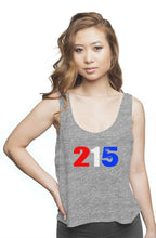 "Load image into Gallery viewer, 2,1, High Five ""Merica"" flowy boxy tank"