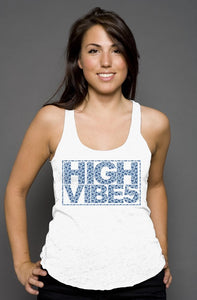 High VIBE5 Pattern racerback tank