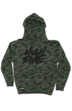 Load image into Gallery viewer, High Five Camo Cut-N-Sew W embroidered Sleeve Logo