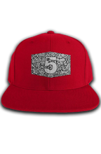 Load image into Gallery viewer, Cement Print Label Snapback