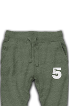 "Load image into Gallery viewer, High Five Embroidered Logo ""premium joggers"""