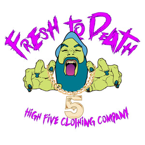"""Fresh 2 Death"" heavyweight pullover hoodie"