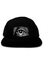 "Load image into Gallery viewer, High Five ""Third Eye"" 5 Panel Camper Hat"