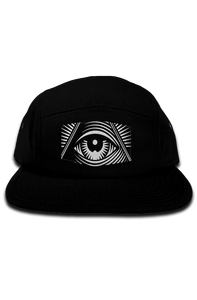 "High Five ""Third Eye"" 5 Panel Camper Hat"