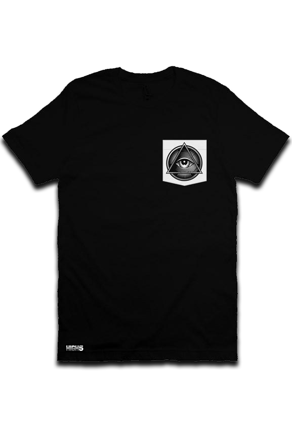 High Five Third Eye Pocket Tee