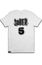 "Load image into Gallery viewer, High Five ""Sober"" T shirt"