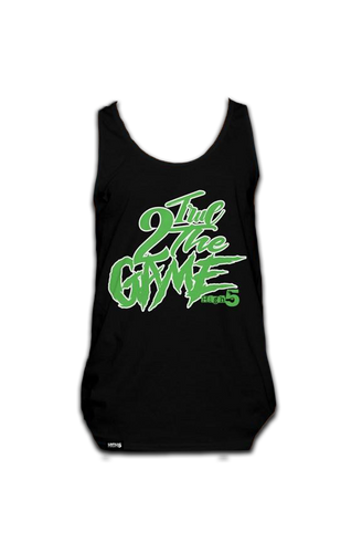True To the Game Tank Top