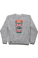 "Load image into Gallery viewer, Philly ""Wooder Ice"" Mid Weight Sweatshirt (Embroidered Left Arm)"