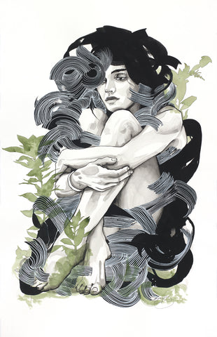 'Allie Enveloped'  Giclee print -  Limited Edition of 10