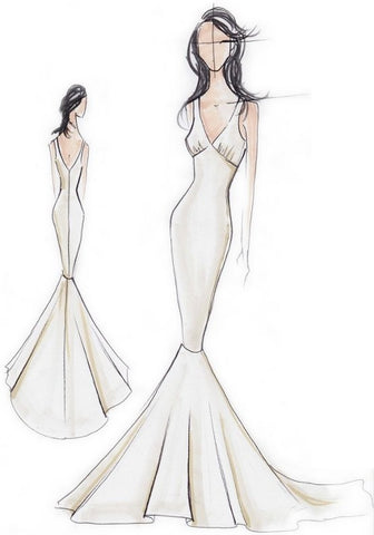 Choosing The Right Dress For Your Body Shape Cheveux Bridal