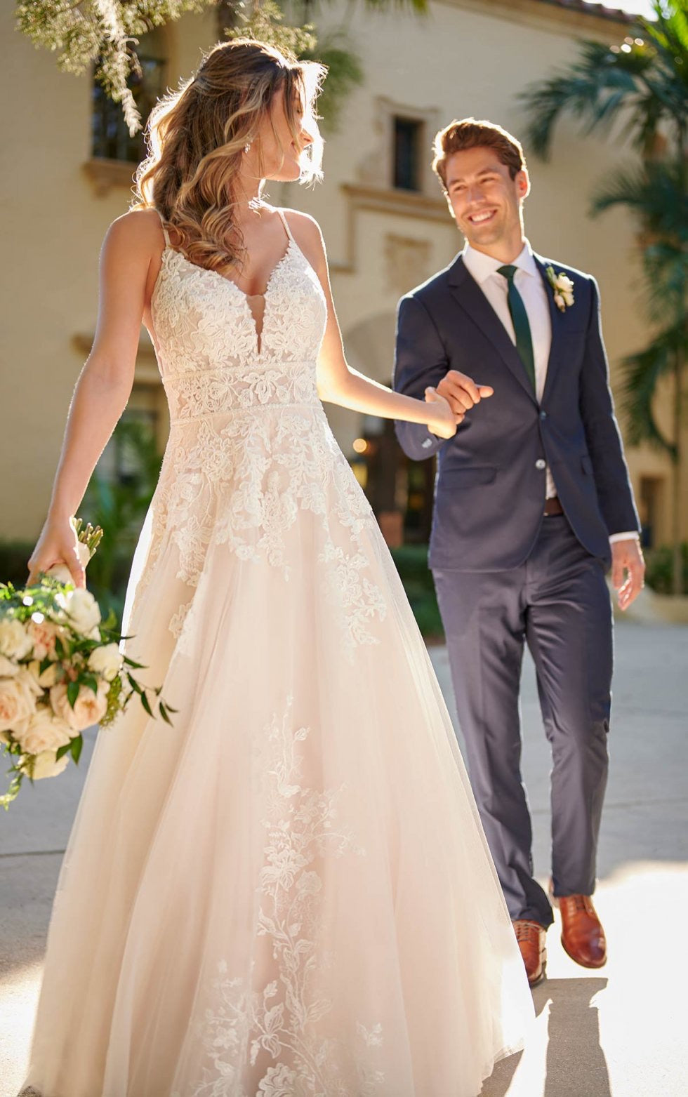 Stella York gown 7103