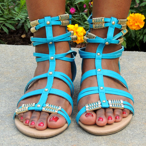 Angela Gladiator Sandals