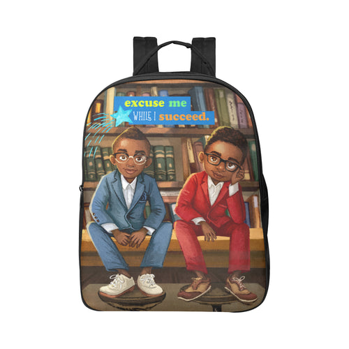 Dapper Gents Large Backpack