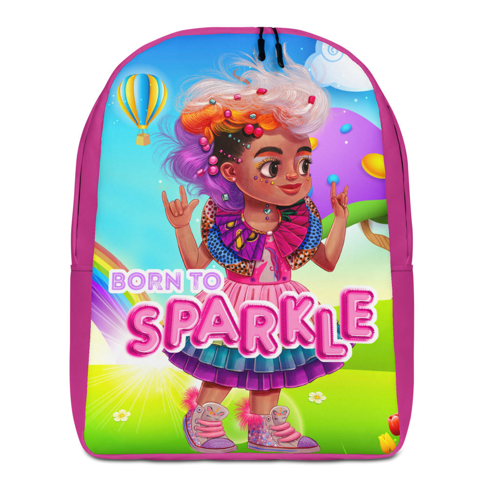 Unicorn Girl Large Backpack