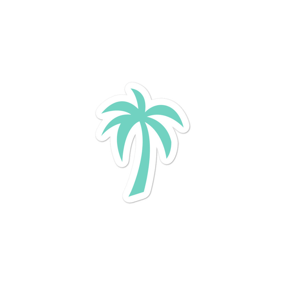 Palm Tree - Turquoise