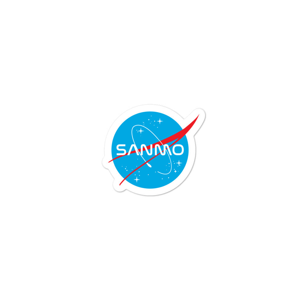 San Mo Galaxy Sticker