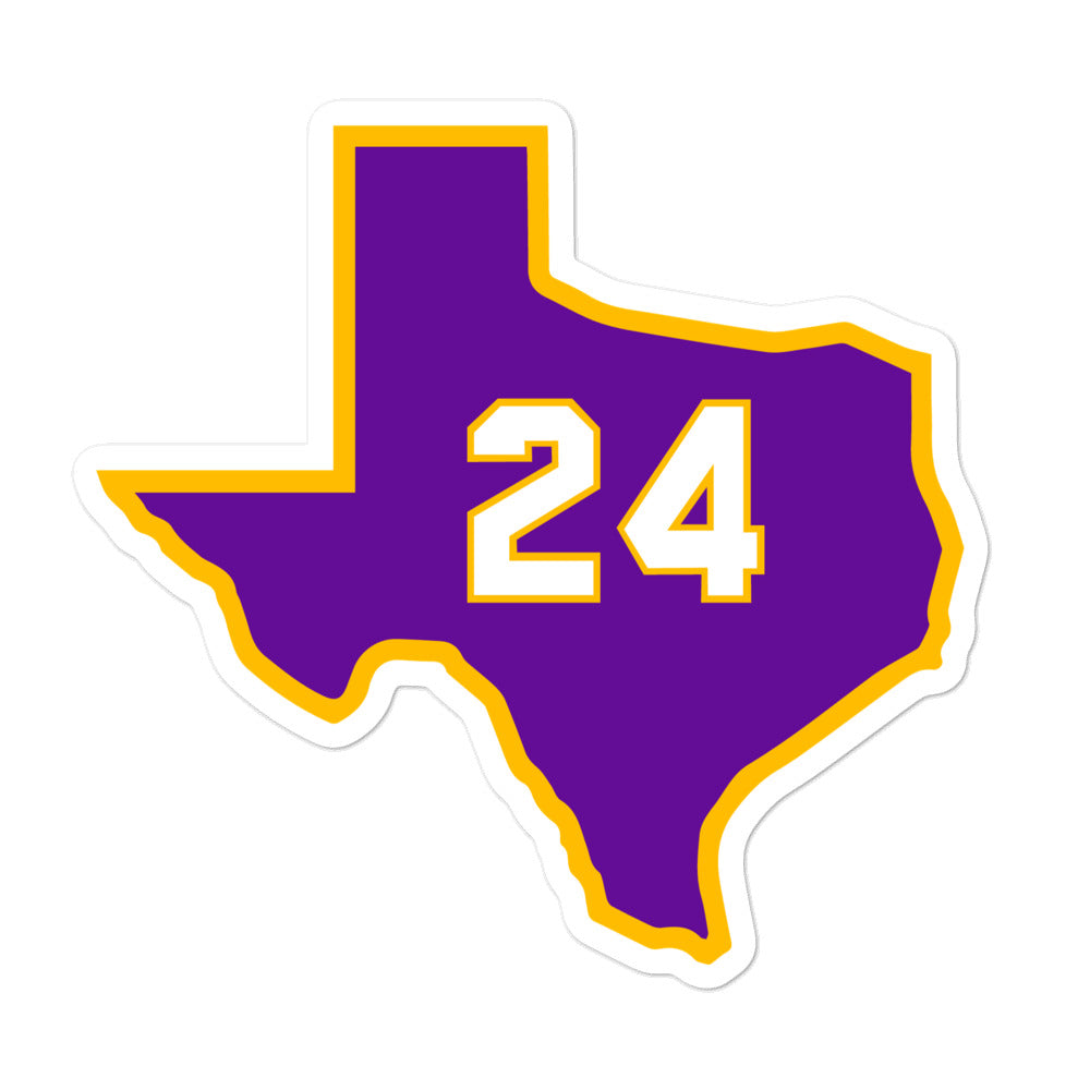 """24"" Sticker - Long Live Kobe"