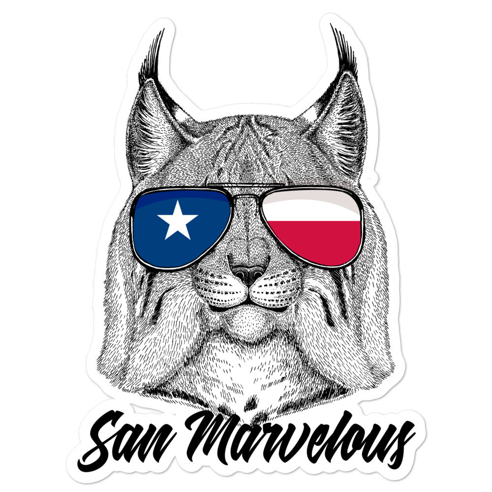 "San Marvelous ""Cool Cat"" Sticker"