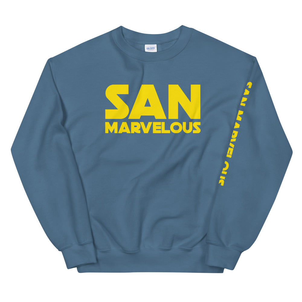 San Marvelous : Distant Galaxy Sweatshirt