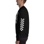 San Marvelous : Signature SM Logo - Checker Crew Neck Sweatshirt