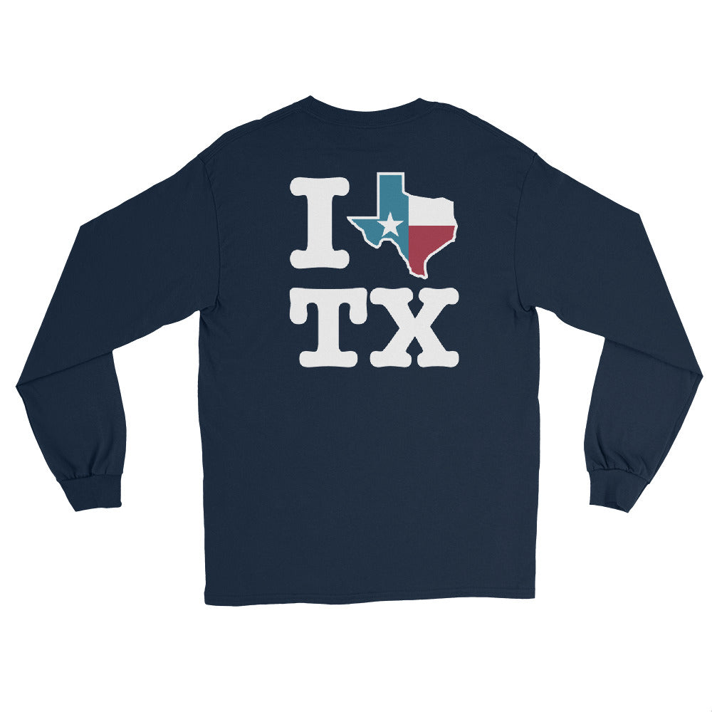 San Marvelous : I Love Texas - Long Sleeve