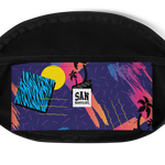 San Marvelous : Palm Tree Sunset - Fanny Pack