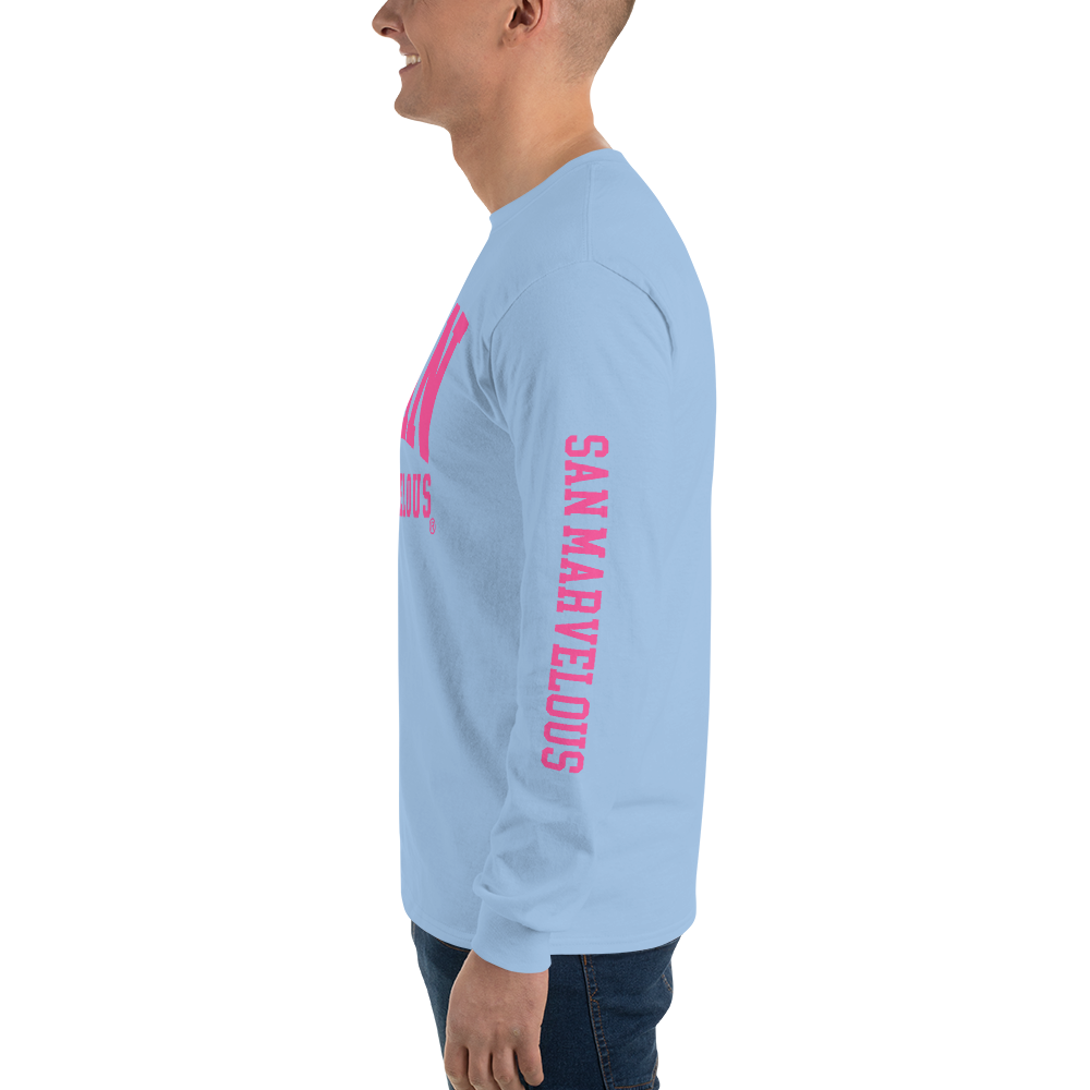 San Marvelous : SM Signature Logo - Long Sleeve T-Shirt