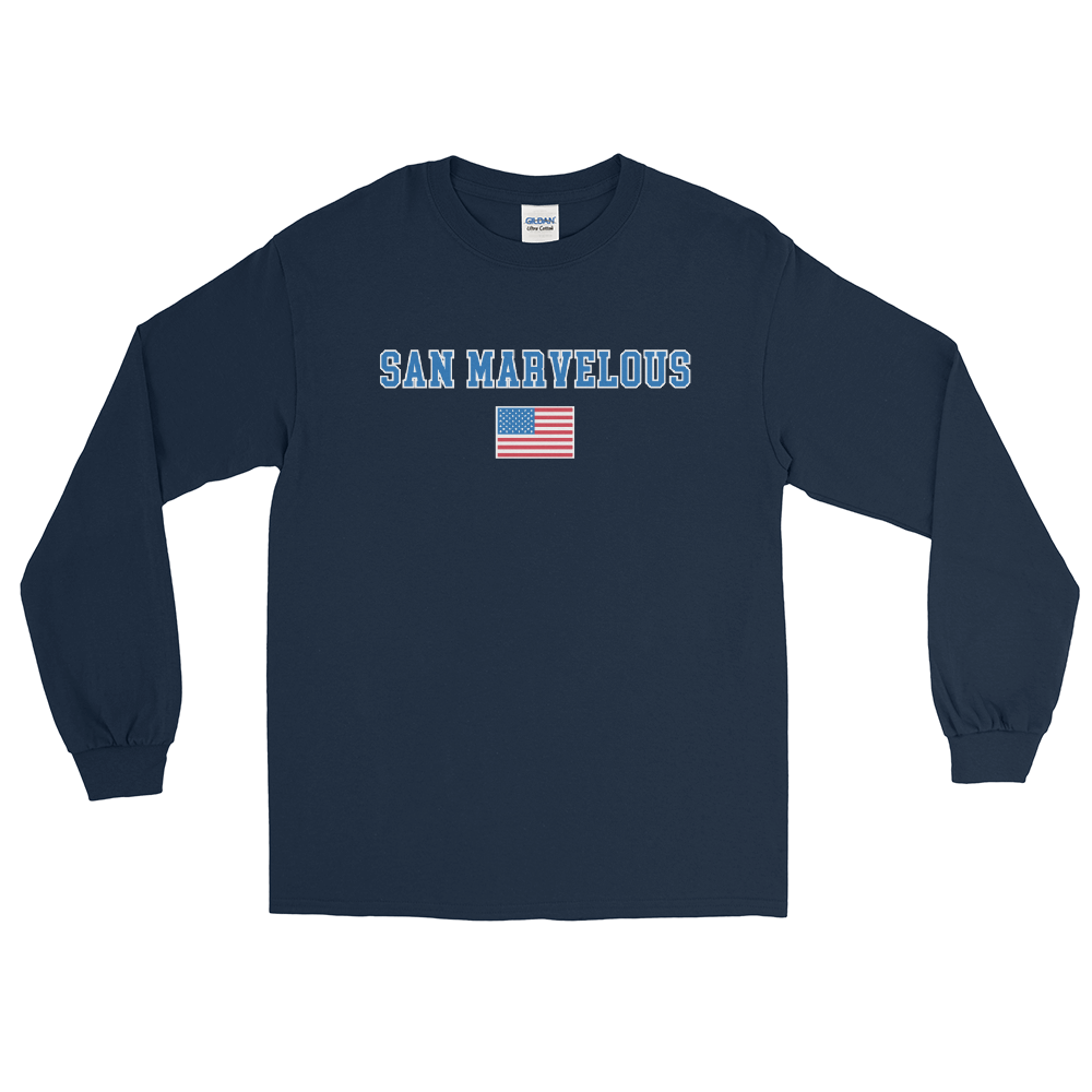 San Marvelous : USA Classic - Long Sleeve T-Shirt