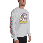 San Marvelous : 90's Pattern Sweatshirt