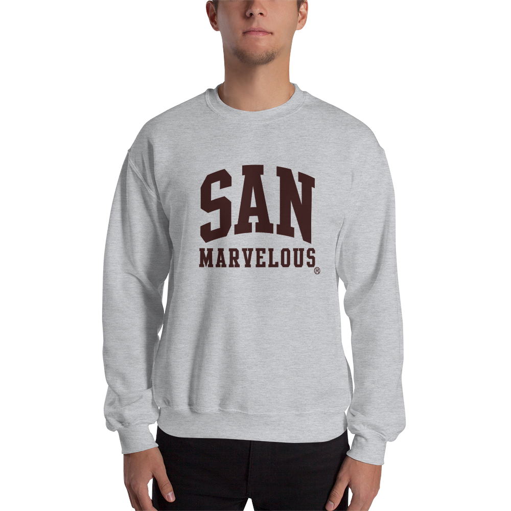 San Marvelous : Classic Logo (School Colors) Sweatshirt
