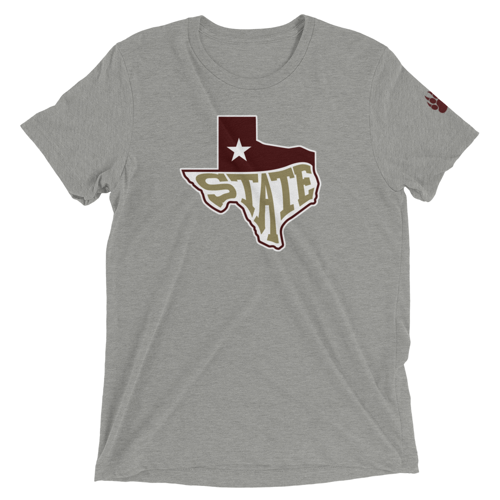 San Marvelous : State Texas - Premium Tri-blend Unisex Short Sleeve Tee