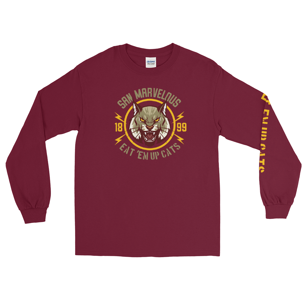 San Marvelous : Bobcat Long Sleeve T-Shirt