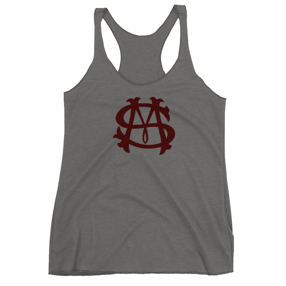 San Marvelous : SM Badge - Women's Premium Tri-Blend Racerback Tank