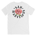 San Marvelous : SMTX Red Rose V-neck