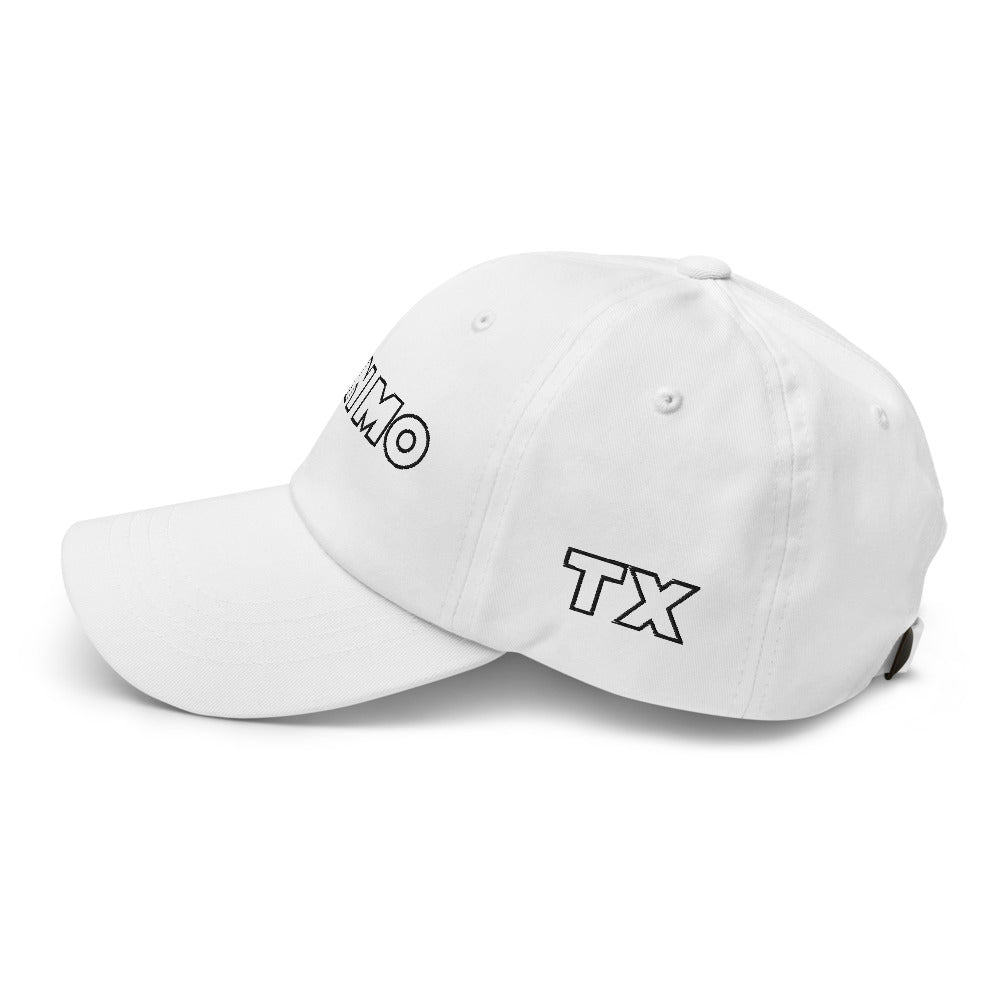 San Marvelous : San Mo Galaxy - Dad Hat - White