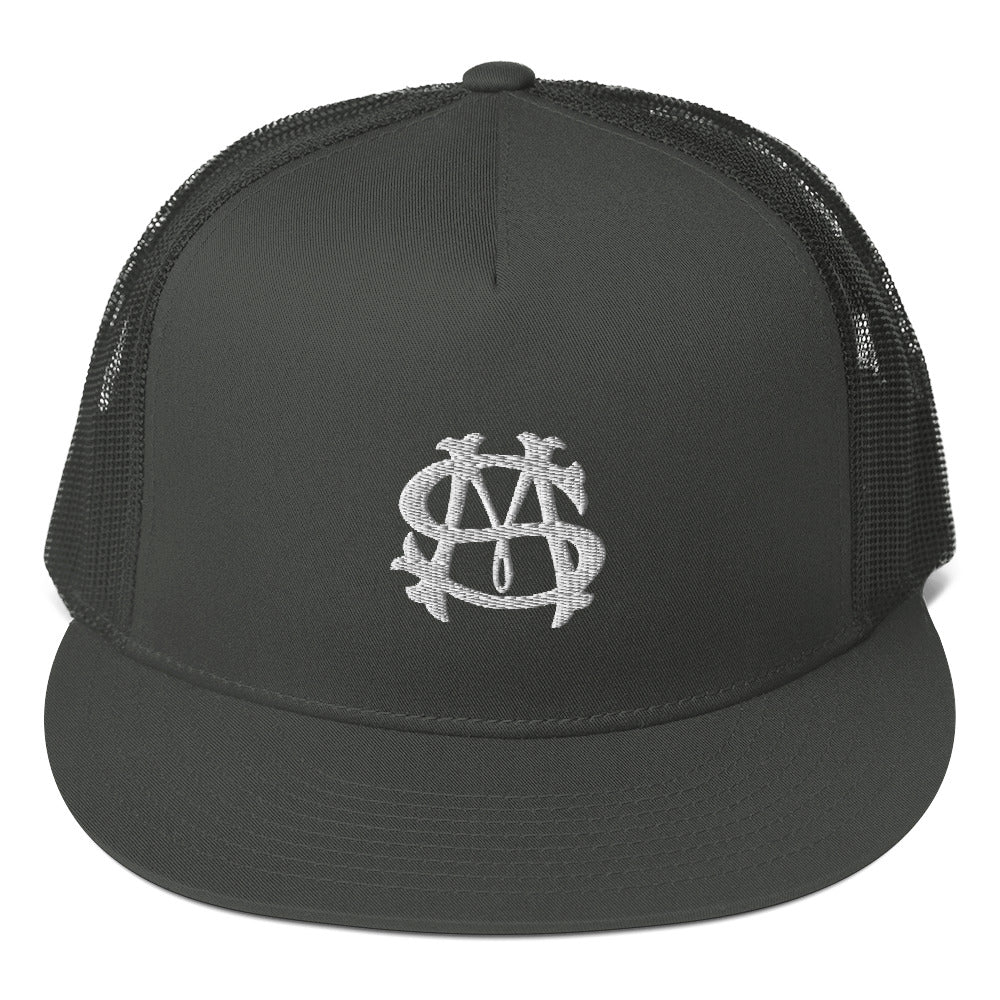 San Marvelous 3D Puff Badge - Trucker Snapback