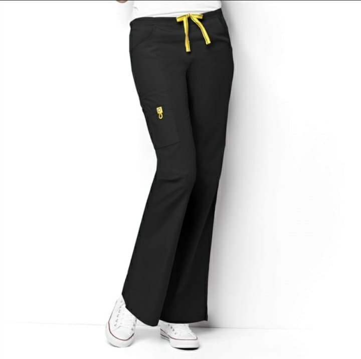 Black Petite Origins Pants 5026P