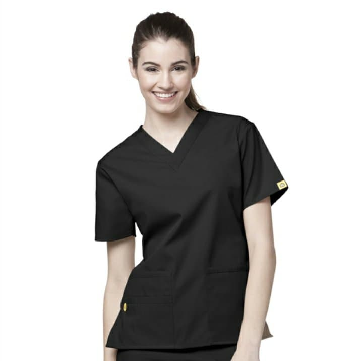 Black Origins Scrub Top 6016