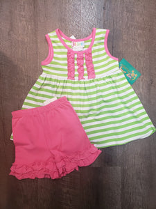 Pink & Lime Outfit