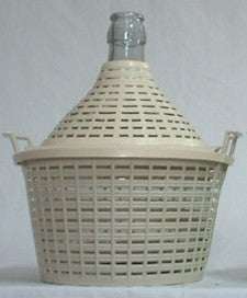 Demijohn 15Lt Narrow Neck With PVC Basket