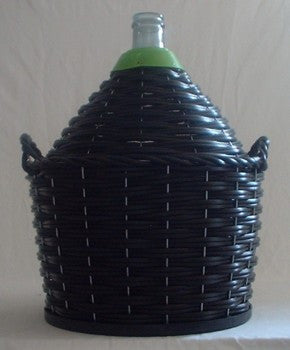 Demijohn 34Lt Narrow Neck With Weaved Heavy Basket