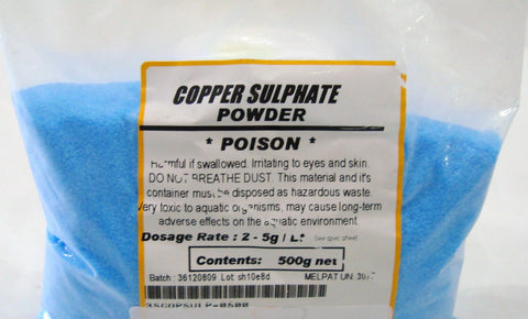 Copper Sulphate Powder 500gm