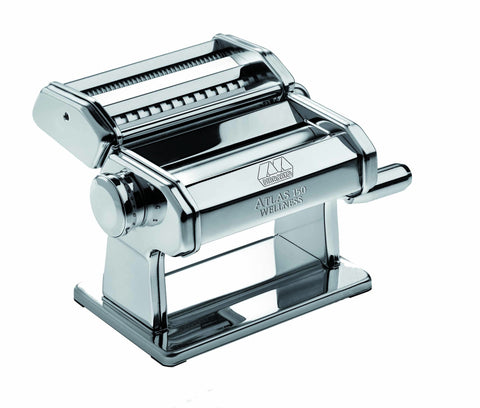 "Marcato Atlas 150 ""Wellness"" Pasta Machine - Silver"