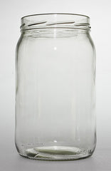 Glass Jar round 1966ml flint 110mm Twist Top