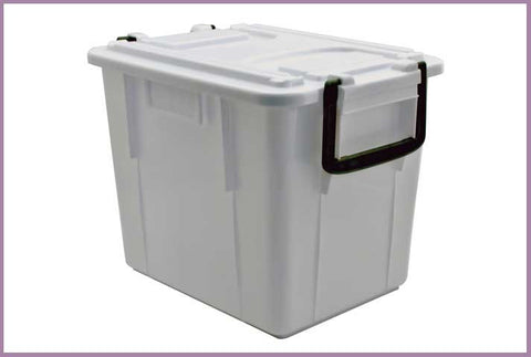 Crate White plastic