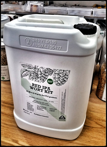 Home Make It Fresh Wort Kit - Red IPA 20 Litres