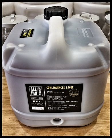 All Inn Fresh Wort Kits - Consequences Lager