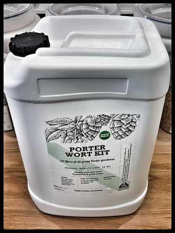 Home Make It Fresh Wort Kit - Porter 20 Litres