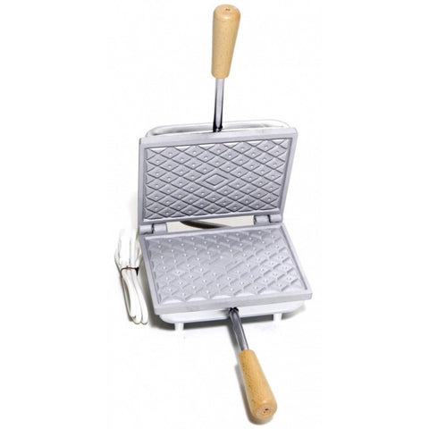 Pizzelle (Waffle) Maker - Square Diamond Pattern - Electric
